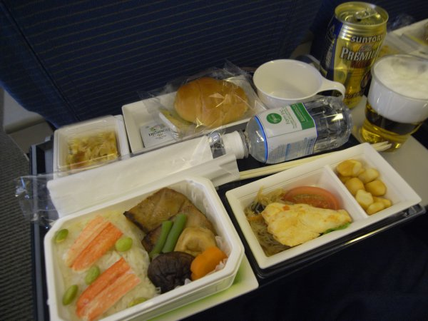 機内食 成田→シンガポール ANA