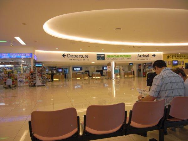 フェリーターミナル シンガポール