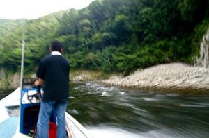 瀞峡川舟観光かわせみ2