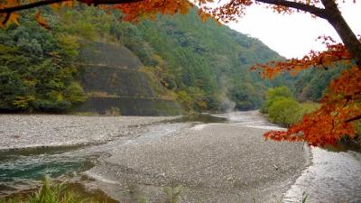 昴の郷(野猿周辺)の川原