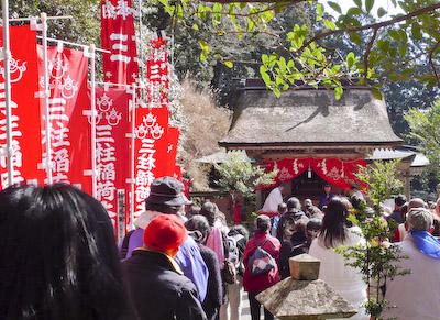 玉置神社初午祭三柱神社