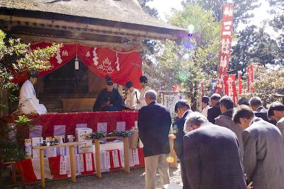 玉置神社初午祭三柱神社例祭