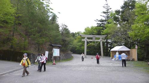 玉置神社参拝客