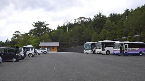 玉置山駐車場