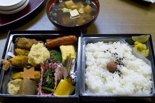 供湯祭ホテル昴弁当