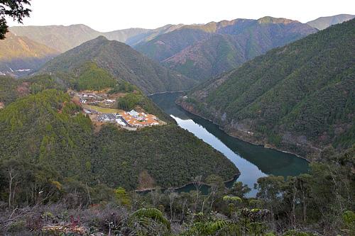 十津川温泉集落