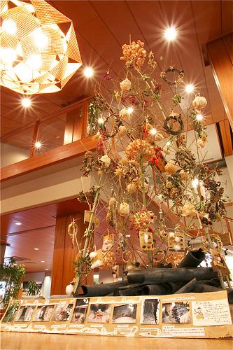 竹クリスマスツリー