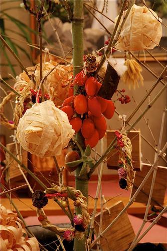 竹クリスマスツリー7