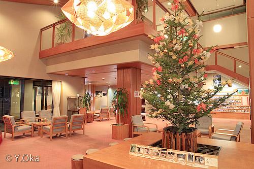 ホテル昴クリスマスツリー