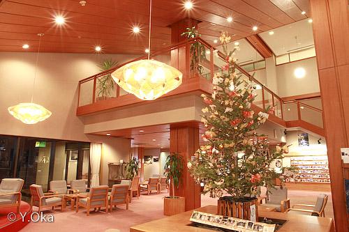 ホテル昴ロビー