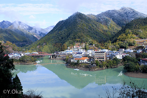 冬の十津川
