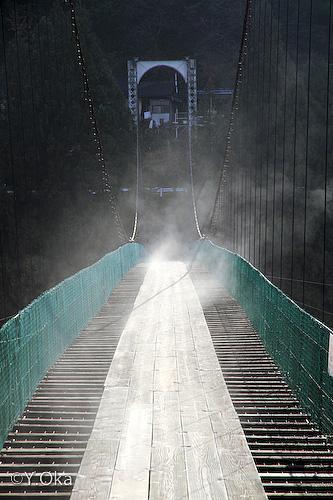 猿飼つり橋