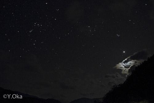 金星月木星