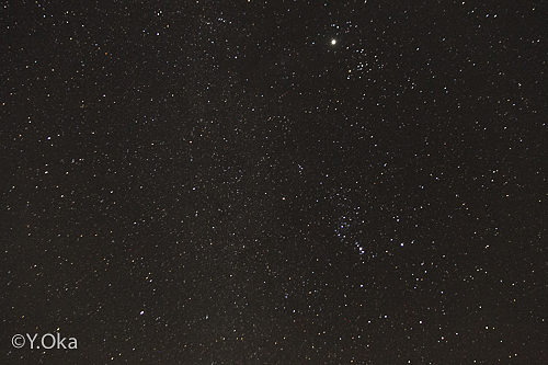 十津川冬の夜空