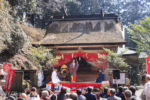 玉置神社初午祭