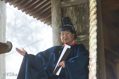 玉置神社宮司さん
