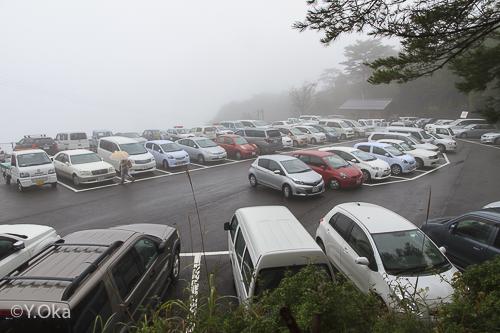 玉置神社例大祭駐車場