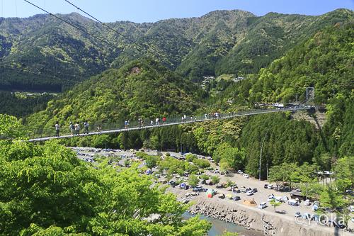 谷瀬つり橋