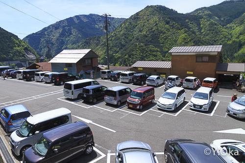 上野地駐車場