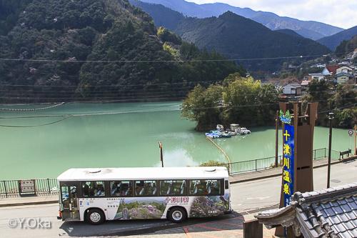 十津川温泉とバス