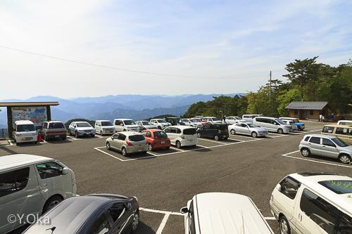 玉置神社駐車場