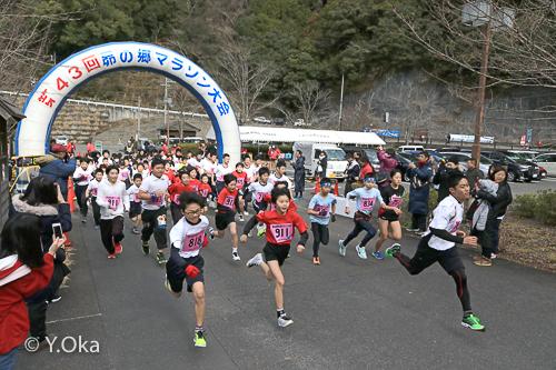 昴の郷マラソン大会
