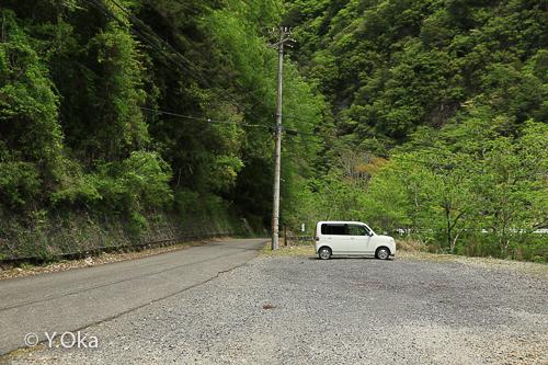 清納の滝駐車場