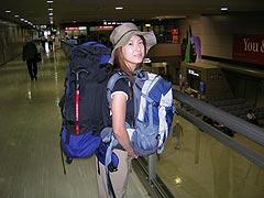 成田空港にて(nakayu)