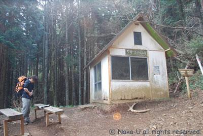 明神岳見晴小屋