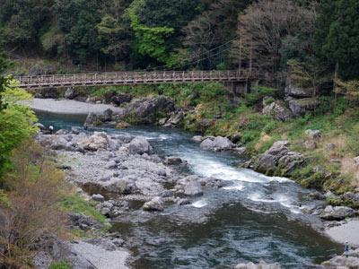 多摩川の上流