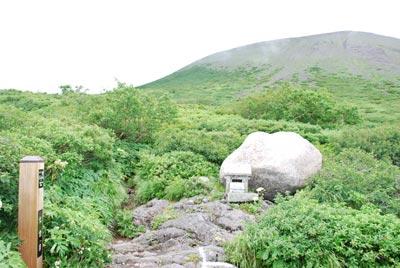 七合目と岩手山