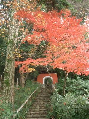 石峰寺赤門