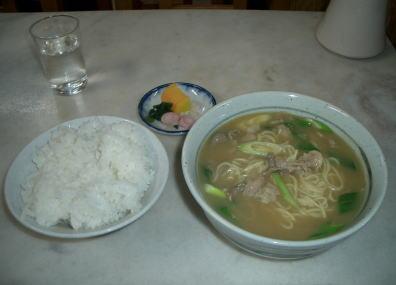 カレーうどん中華麺