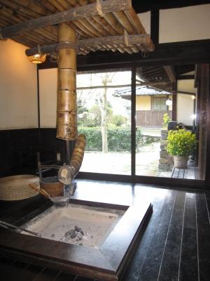 石畳の宿・囲炉裏