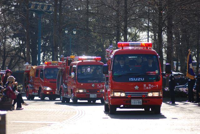 入間市消防団出初め式01