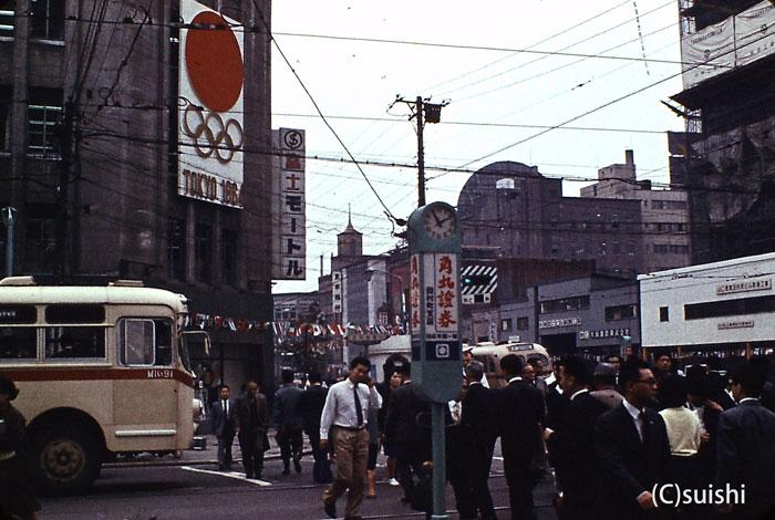 1964年の東京オリンピックの頃に...