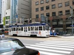 市内の路面電車