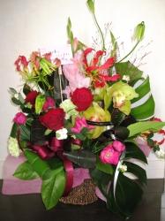 スタッフがくれたお見舞いのお花