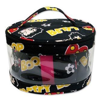 Betty Boop<ベティ・ブープ>コスメバッグ3pcセット(ブラック)