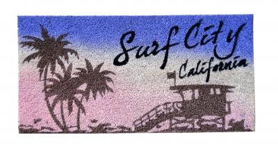 コイヤーマット Surf City Califomia