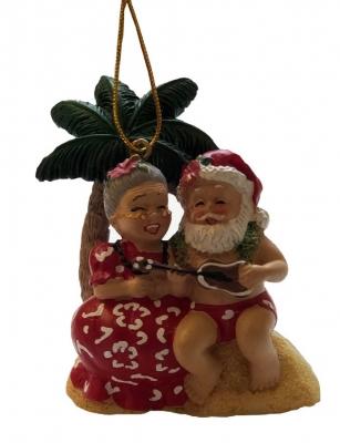 <ハワイアンクリスマス>ハンドペイントオーナメント