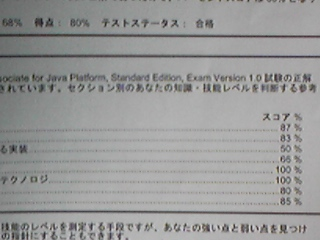 SJC-A合格