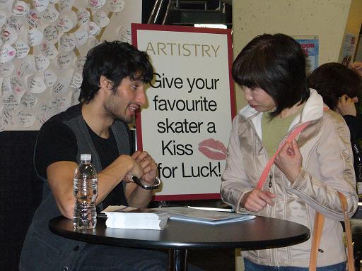 autograph session 2