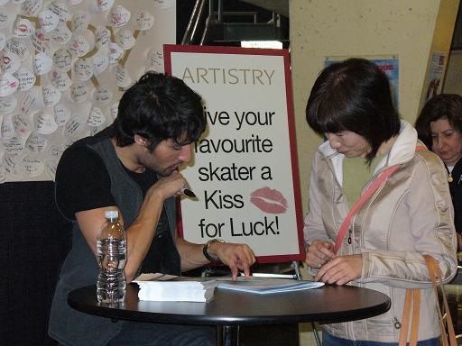 autograph session 3