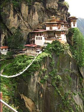 Bhutan タクツァン僧院