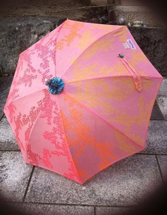 まxSunnyday オリジナルテキスタイル Satomi,el beso 日傘 コトブキ