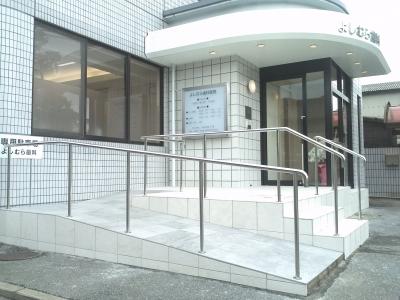 医院アプローチ(バリアフリー))