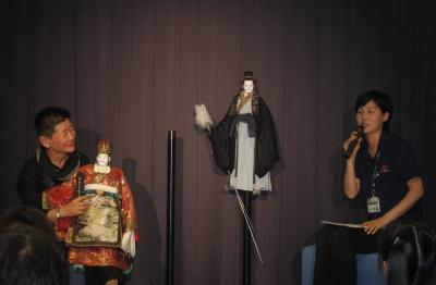 人形操演者トークショー