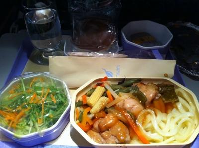 ランカエアの機内食(2)