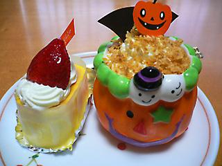 ラ・パニーユのケーキ♪